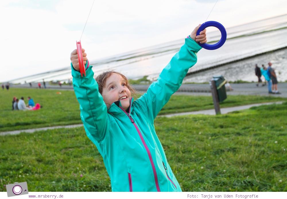 Norddeich: 16 Freizeittipps für Familien an der Nordsee - Drachen steigen am Deich