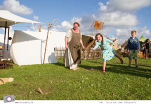 Norddeich: 16 Freizeittipps für Familien an der Nordsee -Wikinger Fest auf der Drachenwiese