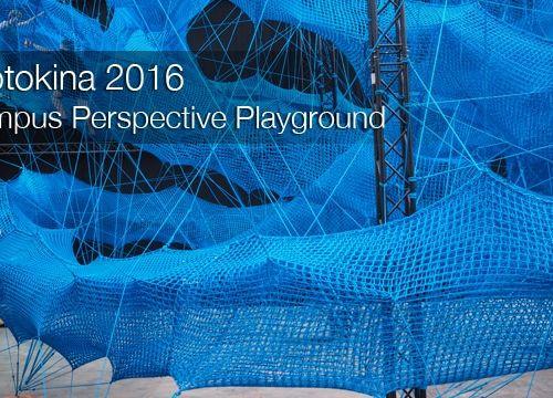 Photokina 2016: Olympus Perspective Playground im Carlswerk