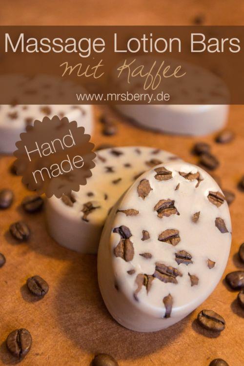 Beauty DIY: Massage Lotion Bars mit Kaffee selber machen