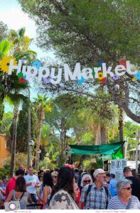 Ibiza mit Kindern - Reisebericht mit Tipps für die Region Santa Eularia: Hippiemarkt Punta Arabi in Es Cana