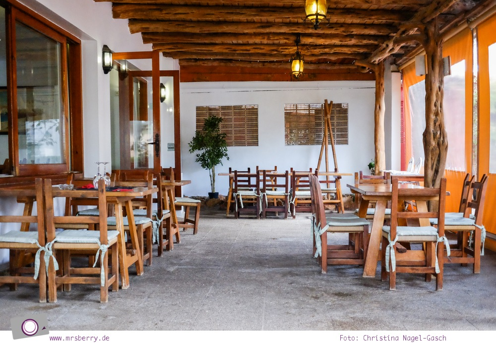 Ibiza mit Kindern - Reisebericht mit Tipps für die Region Santa Eularia: Restaurant Es Pins