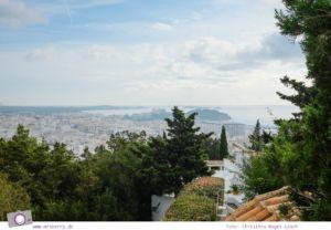 Ibiza mit Kindern - Reisebericht mit Tipps für die Region Santa Eularia: Stadtrundgang, ausgehend vom Hügel Puig de Missa