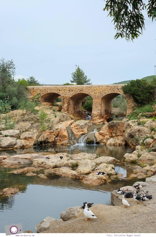 Ibiza mit Kindern - Reisebericht mit Tipps für die Region Santa Eularia: der einzige Fluss der Balearen