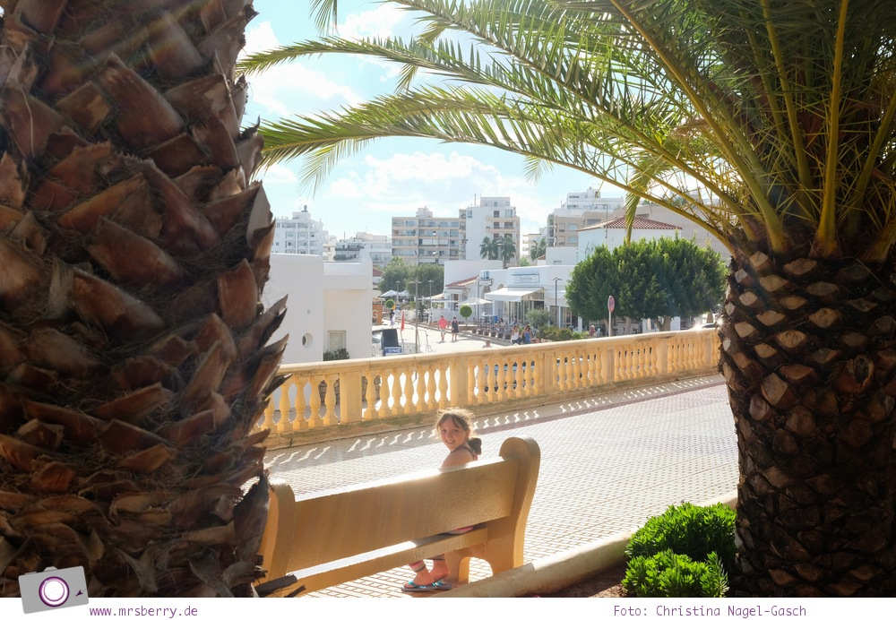 Ibiza mit Kindern - Reisebericht mit Tipps für die Region Santa Eularia: Stadtrundgang durch Santa Eularia des Riu