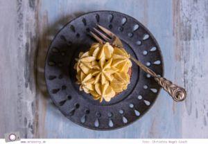 Rezept für Pumpkin Spice Cupcakes mit Kürbis-Buttercreme