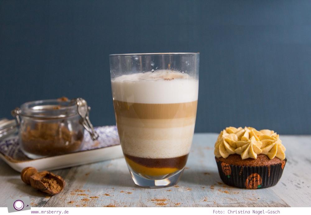 Rezept für Pumpkin Spice Latte ähnlich wie bei Starbucks