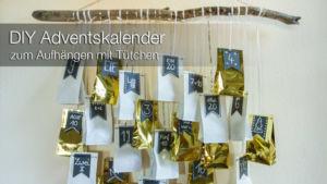 DIY: Adventskalender zum Aufhängen – und 12 Ideen zum Adventskalender füllen