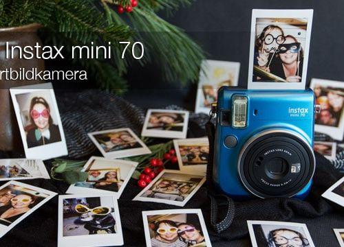Zum Geburtstag ein Sofortbild-Photobooth mit der Fujifilm Instax mini 70