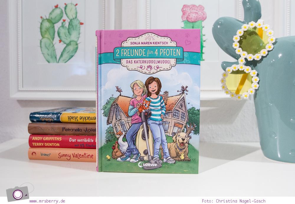 Lesetipp: 5 Kinderbücher -  Geschenktipps zu Weihnachten - Lesespaß ab 8 Jahre - 2 Freunde für 4 Pfoten – Das Katerkuddelmuddel