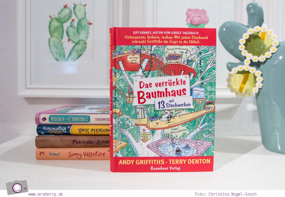 Lesetipp: 5 Kinderbücher - Geschenktipps zu Weihnachten - Lesespaß ab 8 Jahre - Das verrückte Baumhaus – mit 13 Stockwerken