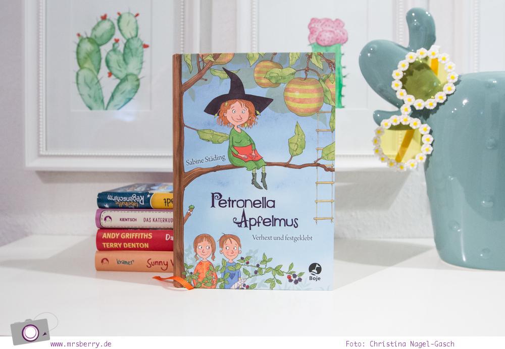 Lesetipp: 5 Kinderbücher -  Geschenktipps zu Weihnachten - Lesespaß ab 8 Jahre - Petronella Apfelmus – Verhext und festgeklebt