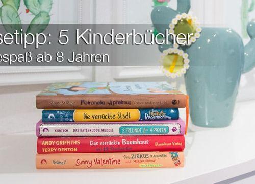 Lesetipp: 5 Kinderbücher als Geschenkidee zu Weihnachten – Lesespaß ab 8 Jahren