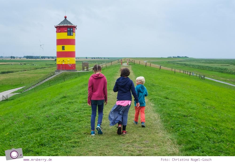Norddeich: 16 Freizeittipps für Familien an der Nordsee - Pilsumer Leuchtturm