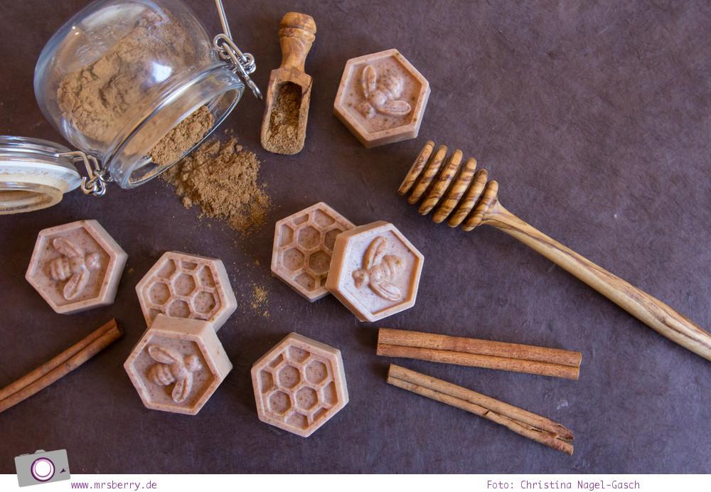 Seife selber machen - Weihnachtsseife mit exotischem Duft