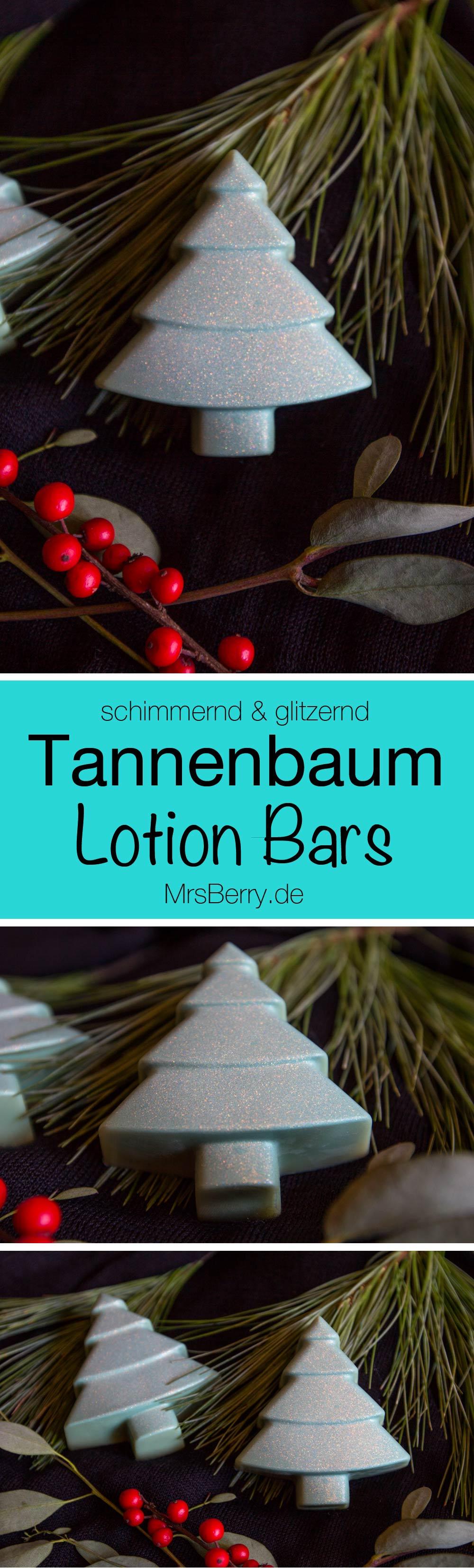 beauty diy tannenbaum lotion bars selber machen. Black Bedroom Furniture Sets. Home Design Ideas