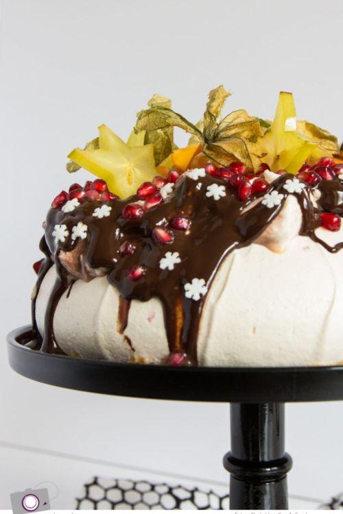 Christmas Pavlova Rezept – schokoladig, sahning und saulecker