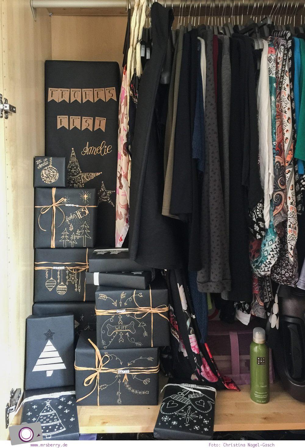 DIY: Geschenke schön verpacken und verstecken für Weihnachten