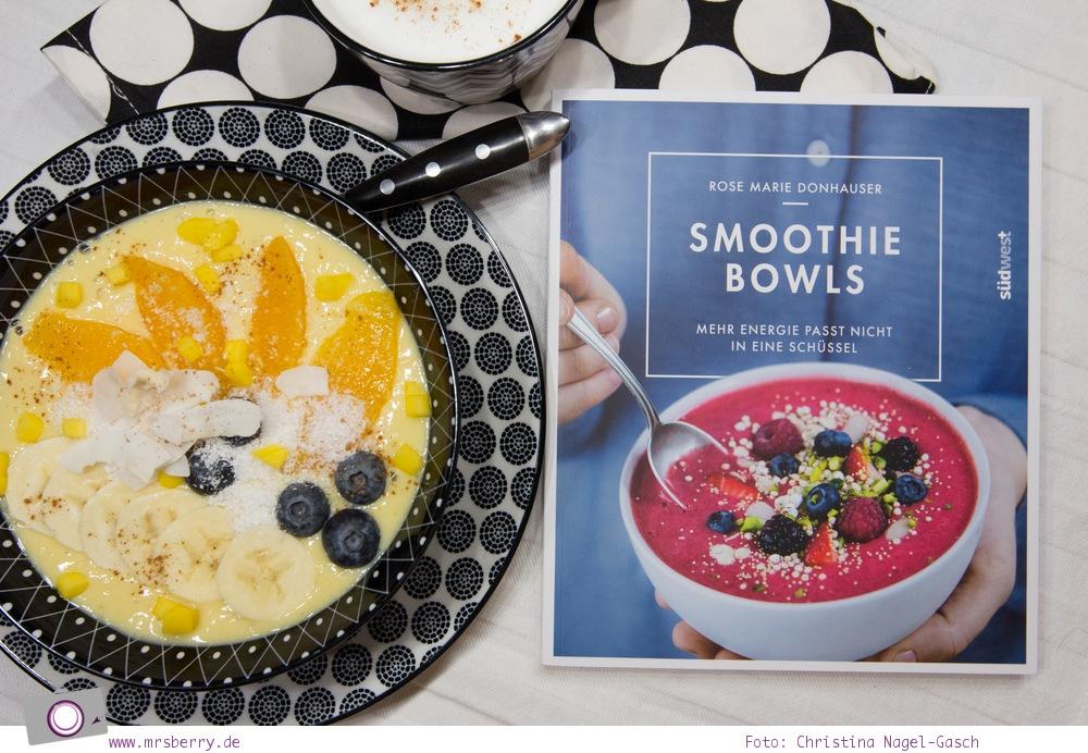Buch Tipp: 5 gesunde Kochbücher - Smoothie Bowls