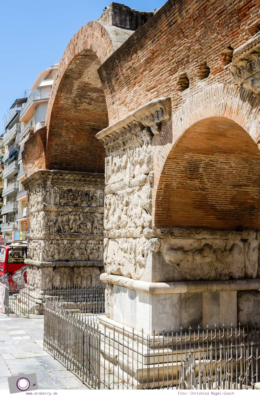 Griechenland: Sehenswürdigkeiten in Thessaloniki - ein Stadtrundgang in 4 Stunden: Galeriusbogen