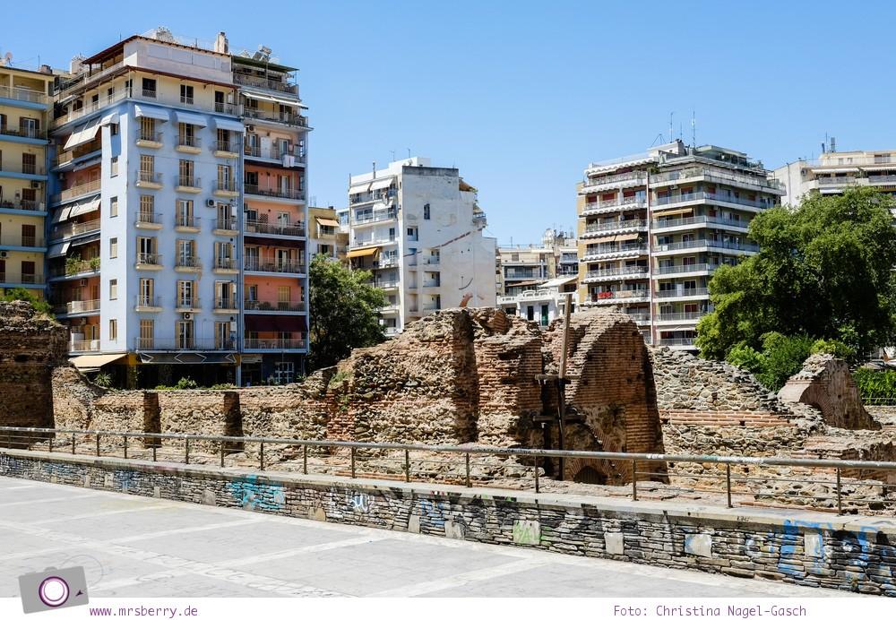 Griechenland: Sehenswürdigkeiten in Thessaloniki - ein Stadtrundgang in 4 Stunden: Galeriuspalast