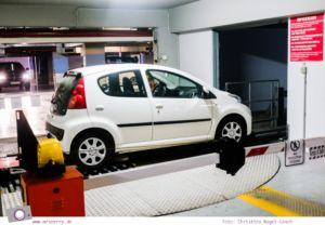 Griechenland: Sehenswürdigkeiten in Thessaloniki - ein Stadtrundgang in 4 Stunden: selbstparkendes Parkhaus