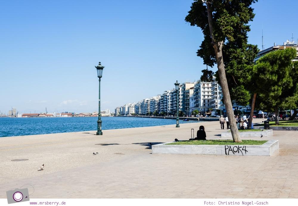 Griechenland: Sehenswürdigkeiten in Thessaloniki - ein Stadtrundgang in 4 Stunden: Promenade