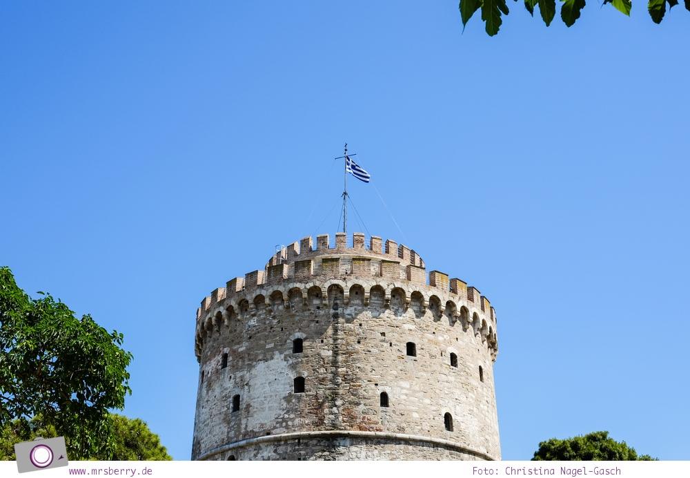 Griechenland: Sehenswürdigkeiten in Thessaloniki - ein Stadtrundgang in 4 Stunden: Weisser Turm