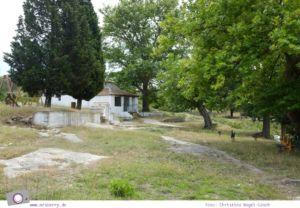 MrsBerry.de   Urlaub in Griechenland, Chalkidiki: Rundfahrt auf Sithonia - Heilende Quelle Agios Pavlos