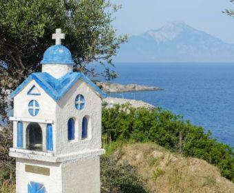 MrsBerry.de | Urlaub in Griechenland, Chalkidiki: Rundfahrt auf Sithonia - Berg Athos