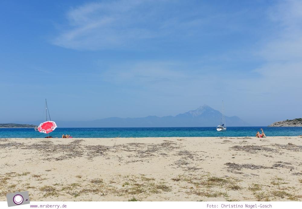 MrsBerry.de | Urlaub in Griechenland, Chalkidiki: Rundfahrt auf Sithonia - Sikia Beach