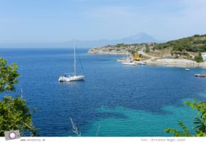 MrsBerry.de   Urlaub in Griechenland, Chalkidiki: Rundfahrt auf Sithonia - Taverne 5 Steps In The Sand