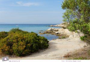 MrsBerry.de   Urlaub in Griechenland, Chalkidiki: Rundfahrt auf Sithonia - Vourvourou
