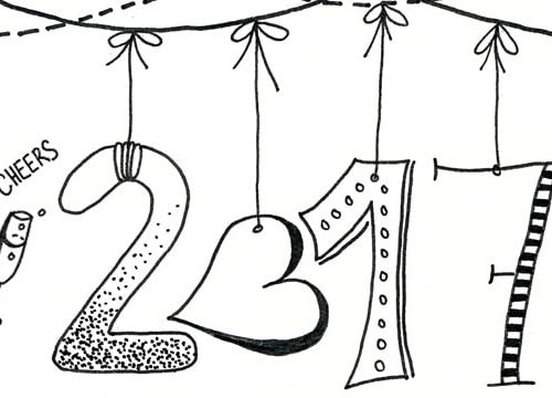 Bye, bye 2016 – hello 2017: meine To Do List für's neue Jahr