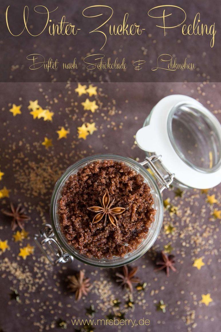 Peeling selber machen: Rezept für Winter-Zucker-Peeling