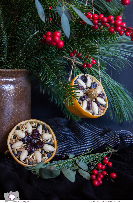 MrsBerry.de Winter DIY | Vogelfutter selber machen oder Meisenknödel selber machen - so einfach geht's