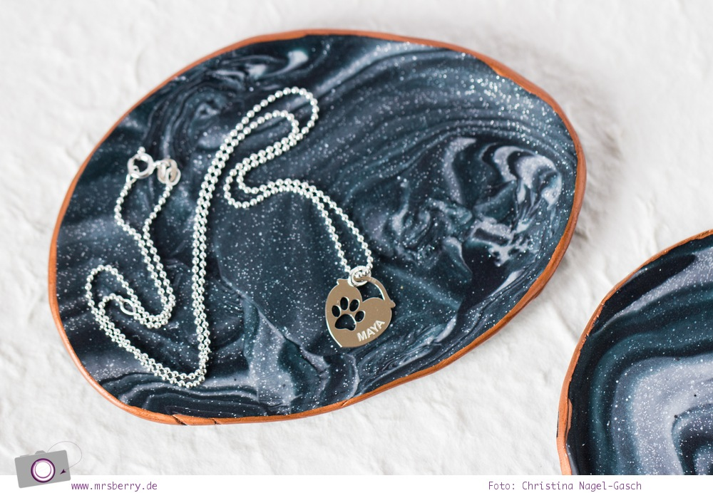 MrsBerry.de DIY | Marmor-Schmuckschale aus Modelliermasse (Fimo) selber machen