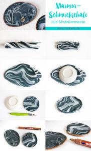 MrsBerry.de DIY   Marmor-Schmuckschale aus Modelliermasse (Fimo) selber machen