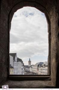 MrsBerry.de in Trier: 10 Sehenswürdigkeiten & Tipps für Deutschlands älteste Stadt - Ausblick von Porta Nigra auf die Altstadt von Trier
