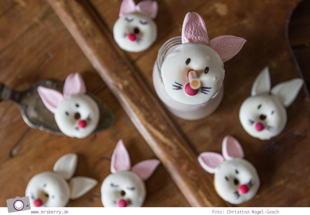 Donuts backen: Rezept für Hasen Donuts zu Ostern zum selbermachen | MrsBerry Familien-Reiseblog