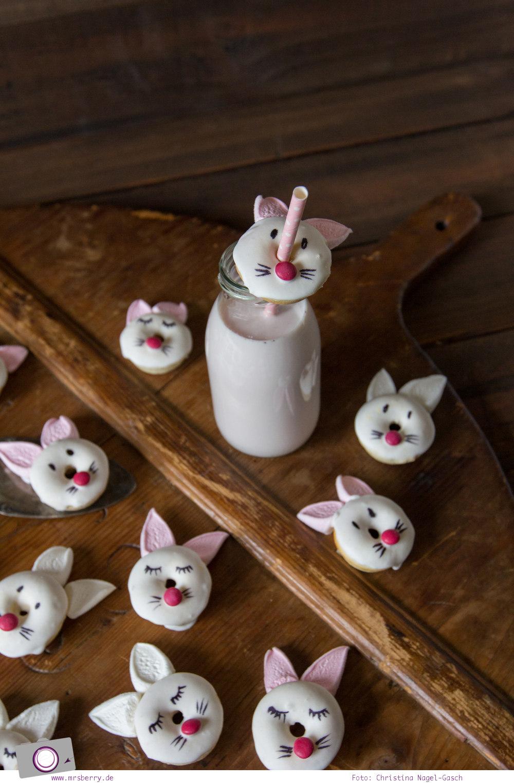 Leckeres DIY zu Ostern | Mini Donuts backen: Rezept für entzückende Hasen-Donuts zum selbermachen | MrsBerry Familien-Reiseblog