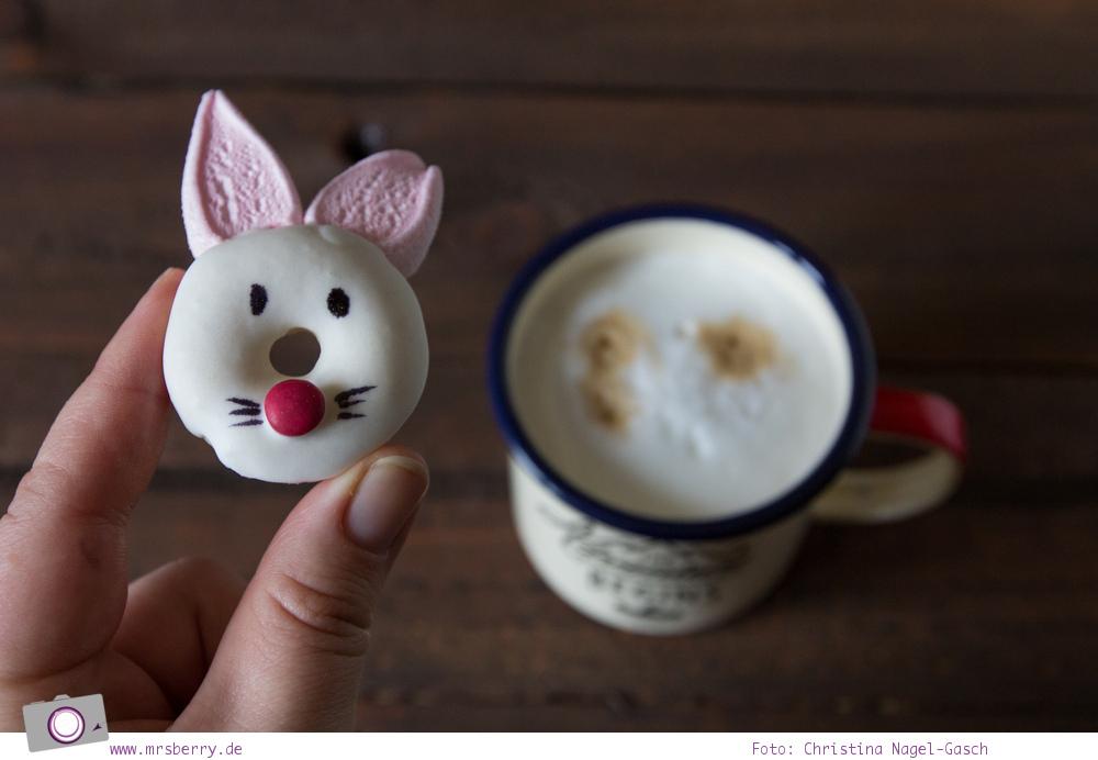 Leckeres DIY zu Ostern | Mini Donuts backen: Rezept für Hasen-Donuts zum Osterbrunch selber machen | MrsBerry Familien-Reiseblog
