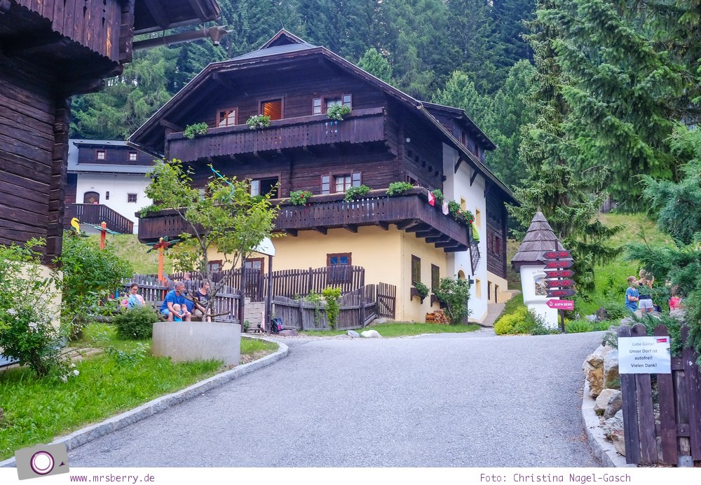 Familienurlaub in Kärnten - Feriendorf Kirchleitn mit Ranger Tagen für Kinder: Feriendorf Grosswild [Österreich, Wandern im Nockberge Nationalpark]