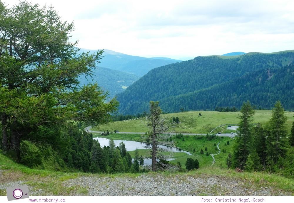Steiermark mit Kind - Urlaub im Seehotel Jägerwirt auf der Turracher Höhe am Turracher See: Nockalmstrasse Panoramastrasse in Kärnten
