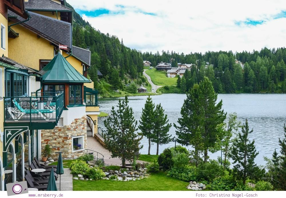 Steiermark mit Kind - Urlaub im Seehotel Jägerwirt auf der Turracher Höhe am Turracher See: Ausblick vom Zimmer