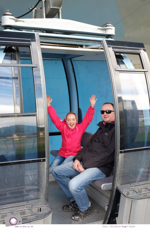 Steiermark mit Kind - Urlaub im Seehotel Jägerwirt auf der Turracher Höhe am Turracher See: Panoramabahn zum Nocky Flitzer