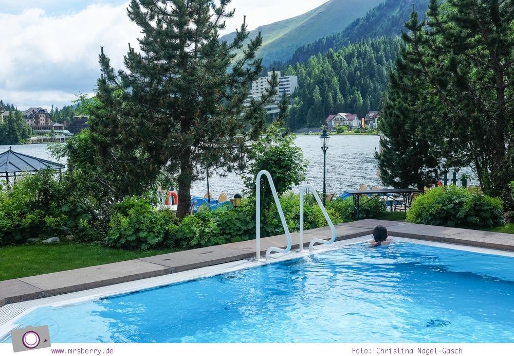 Steiermark mit Kind - Urlaub im Seehotel Jägerwirt auf der Turracher Höhe am Turracher See: Entspannung im Pool