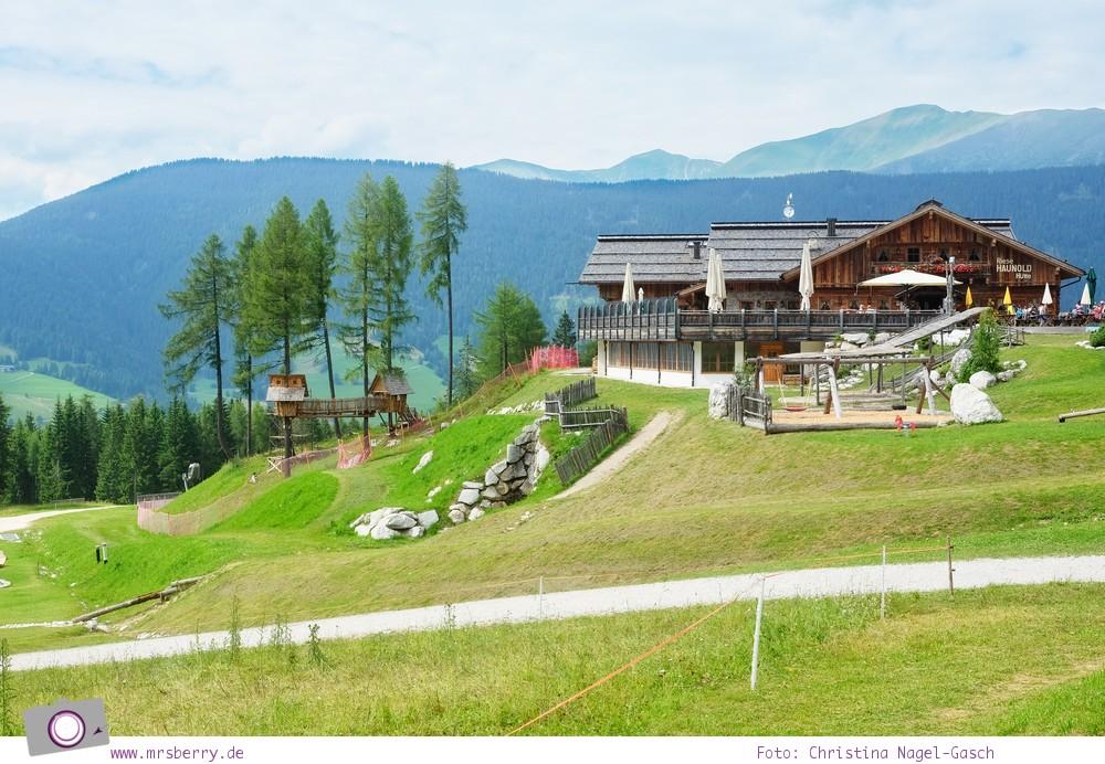 Familienurlaub in Südtirol in der Dolomitenregion Drei Zinnen: Haunold - der Familien-Erlebnisberg