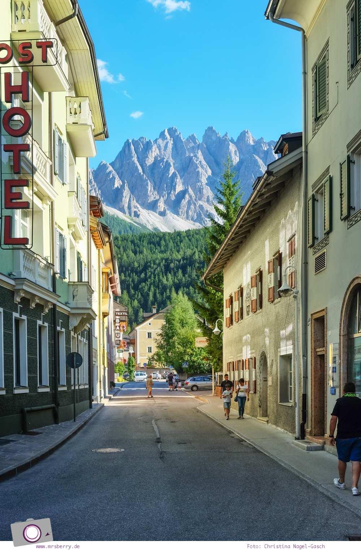 Familienurlaub in Südtirol in der Dolomitenregion Drei Zinnen: zauberhaftes Örtchen Innichen