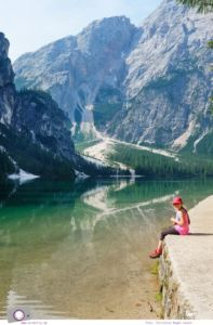 Familienurlaub in Südtirol in der Dolomitenregion Drei Zinnen: Ausflug zum Pragser Wildsee